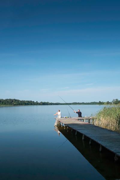 Gieret Lake, Giby, Poland