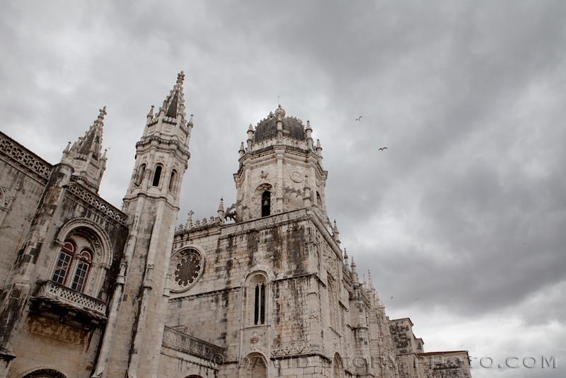 Jerónimos Monastery, Lisbon, Portugal.