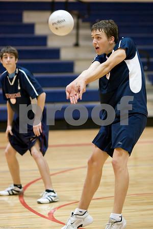 Boys' Volleyball 10-13-2008