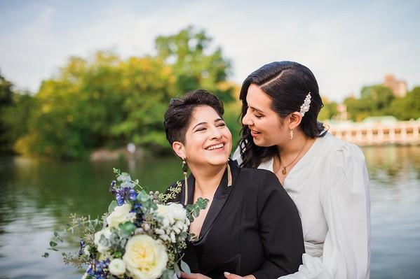 Andrea & Dulcymar - Central Park Wedding