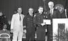 IPD Graduation, April 28, 1988, Img. 12, with Mayor Hudnut, Richard I. Blankenbaker, Paul A. Annee