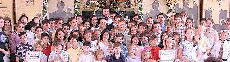 Church School - Graduation - June 2, 2002