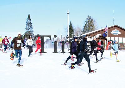 2018 Moose Tracks Snowshoe Race