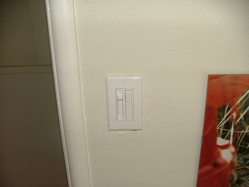 dimmer switches in bedrooms