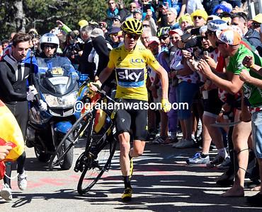 Tour de France Stage 12: Montpellier > Mont Ventoux, 184kms