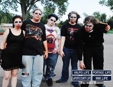 Michigan City Zombie Walk 2012