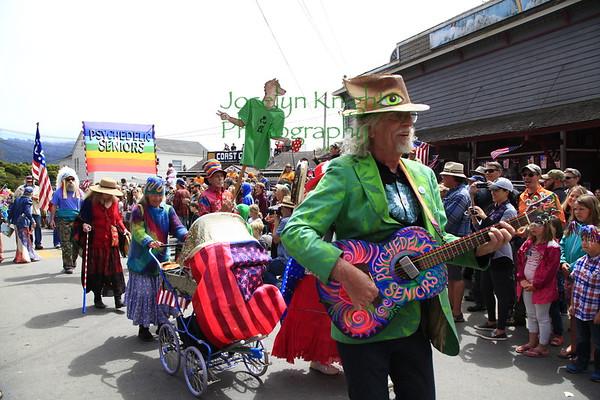 Bolinas 4th of July Pull and Parade 2017