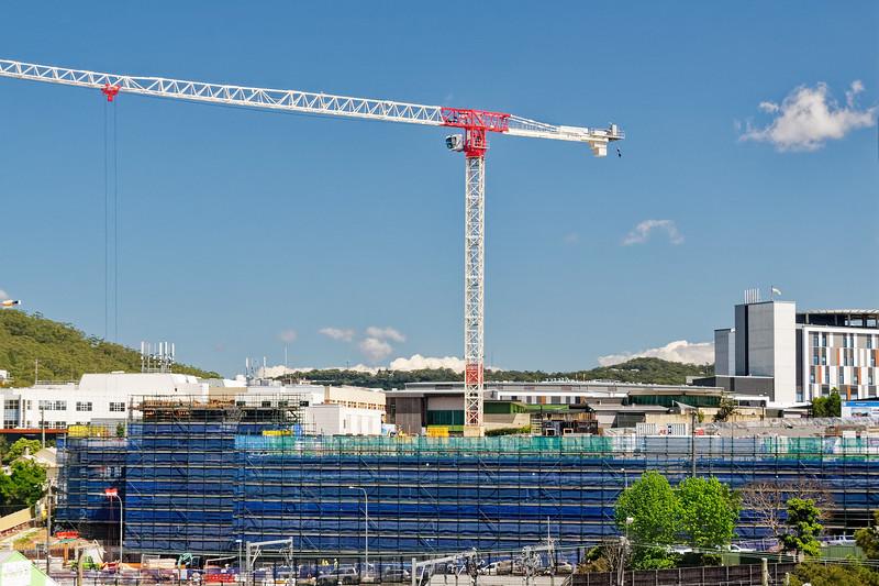 Gosford Hospital building progress H54ed October 2018.