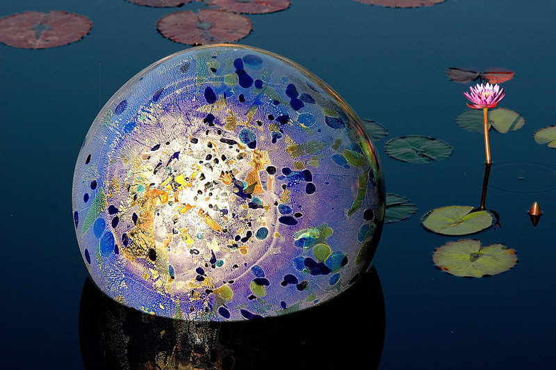 Sphere on the Pond