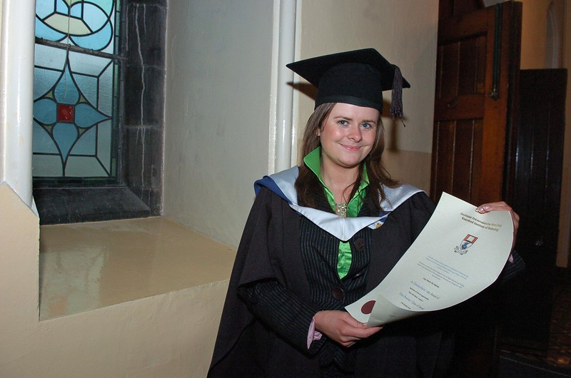 Provision 251006 Amy McMahon from Broadford, Co. Clare graduated with a BA in Legal Studies from WIT yesterday (Weds). PIC Bernie Keating/Provision