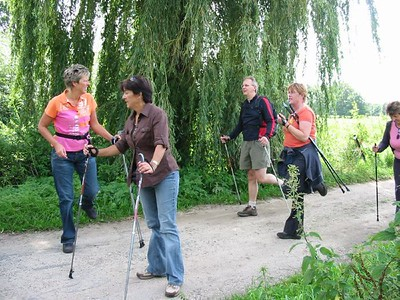 Nordic Walking 18 Aug 07