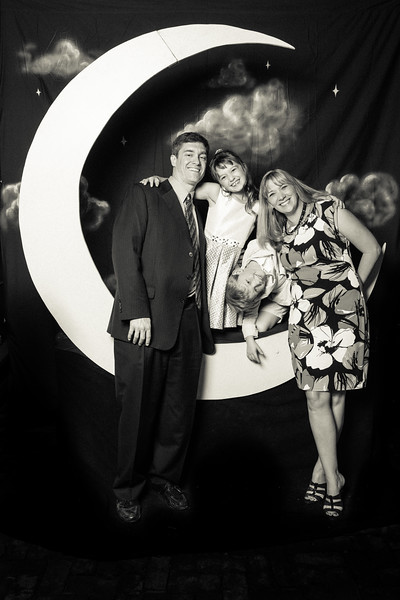 Kate & Steve's Wedding Moon Booth