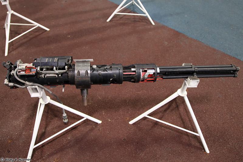 Авиационный пулемёт ЯкБ-12,7 9-А-624 (YakB-12,7 9-A-624 four-barrel rotary cannon)