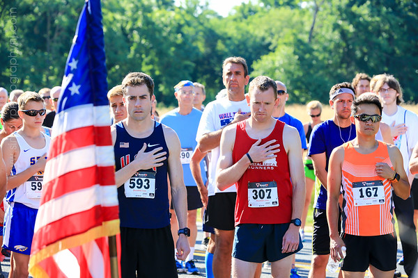 Firecracker 5 Mile Race - Wall, NJ  (2016)