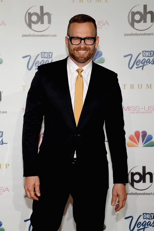 . Personal trainer, television personality and pageant judge Bob Harper arrives at the 2013 Miss USA pageant at Planet Hollywood Resort & Casino on June 16, 2013 in Las Vegas, Nevada.  (Photo by Ethan Miller/Getty Images)