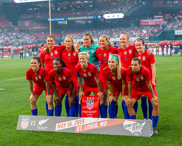 USWNT vs New Zealand at Busch Stadium 5/17/19