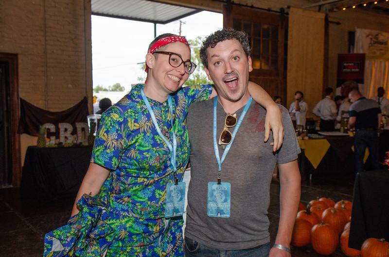 Brianne Halverson & Dan Gilbert of Savannah for Morons