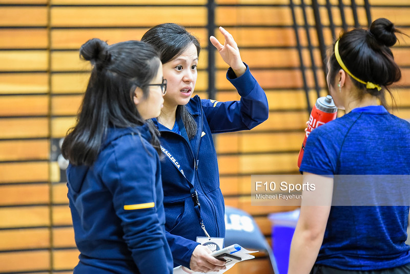 TORONTO, CANADA - Feb 15: during OCAA Badminton Provincials at University of Toronto. Photo: Michael Fayehun/F10 Sports Photography