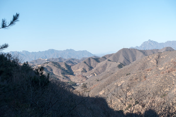Great Wall of China at Jinshanling
