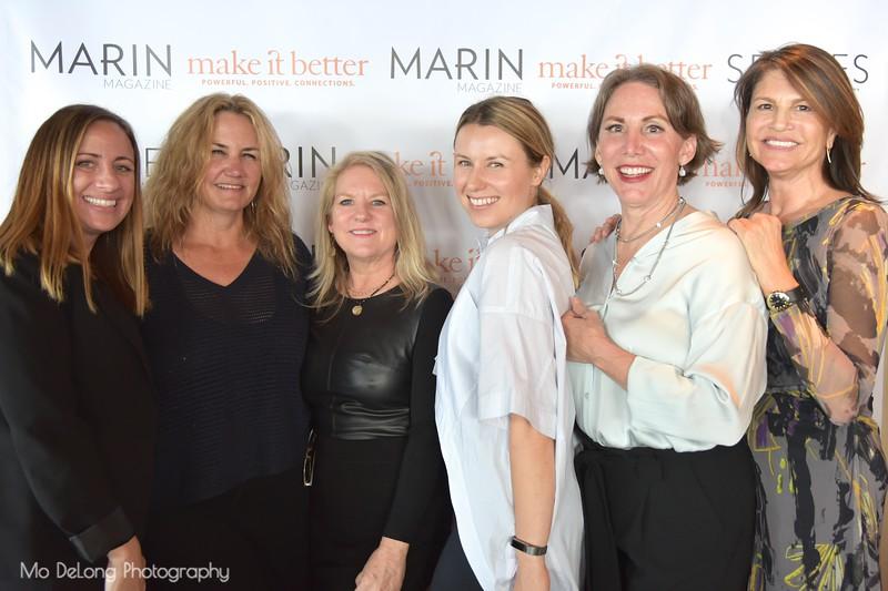 Leah Bronson, Kirstie Martinelli, Dana Horner, Kasia Pawlowska, Debra Hershon and Lesley Cesare