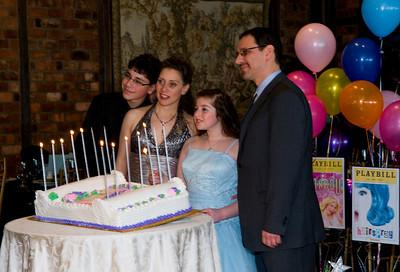 Avery's Bat Mitzvah Party, Feb. 27, 2010