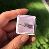 1.19ct Art Deco Carre Cut Diamond Solitaire 20