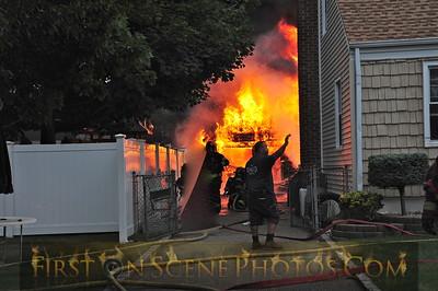 06/17/15 - South Hempstead garage fire