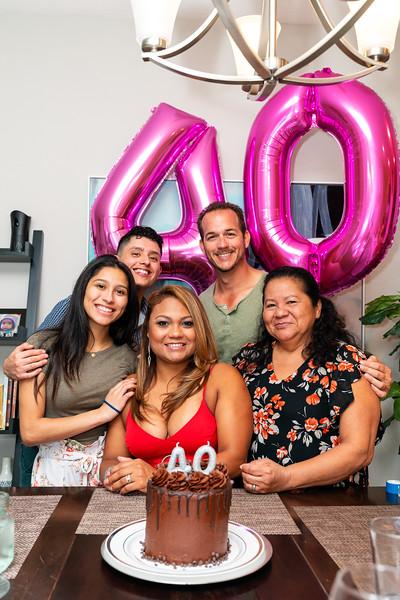 Fanny 40th Birthday