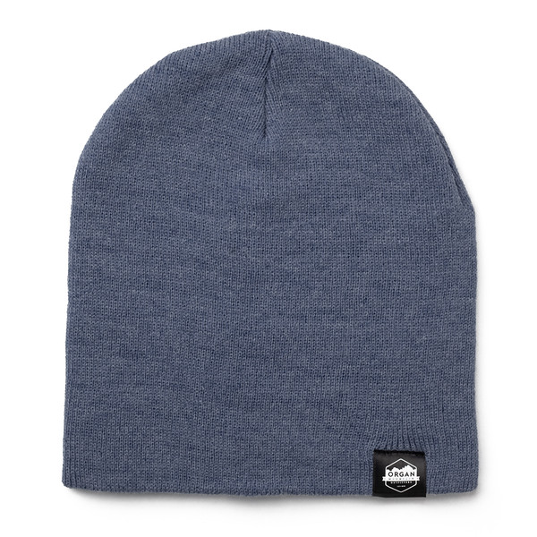 Outdoor Apparel - Organ Mountain Outfitters - Hat - 8 Inch Knit Beanie - Heather Navy.jpg