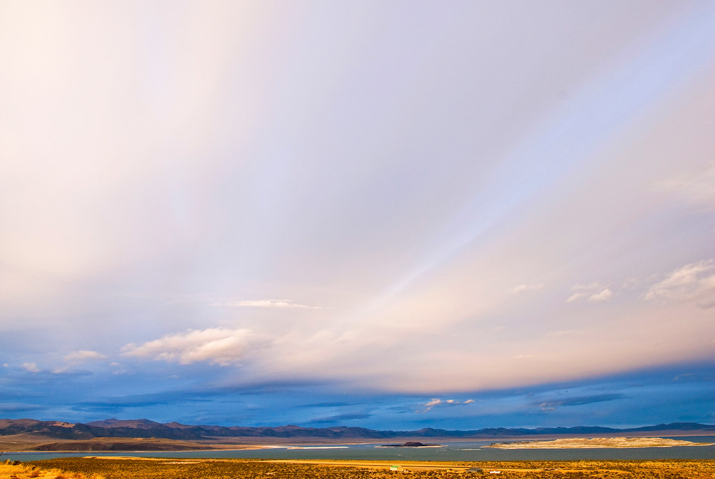 Storm over Mono Lake, CA