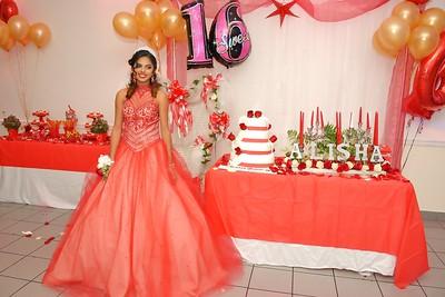 Alisha's Sweet 16