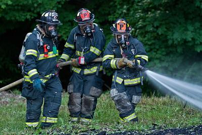 6-11-13 Camper Fire Drill, CVFD Fire House