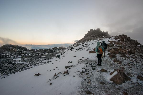 Lassen Peak Area, Brokeoff Mountain - Lassen Volcanic NP