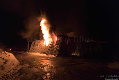 3 Alarm Structure Fire - Turnpike Rd, Townsend, MA - 12/22/2020