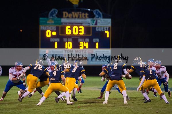 Varsity Football - District - Mason at Dewitt