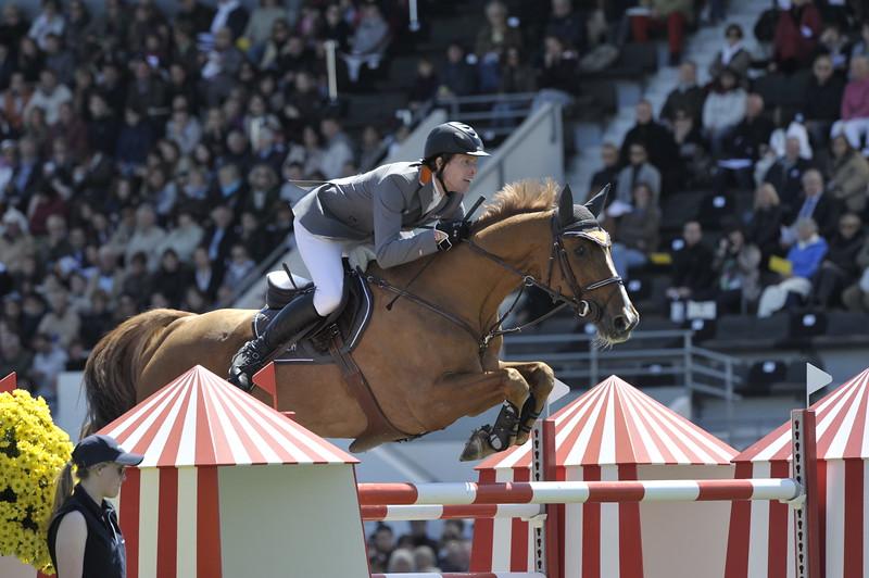 JUMPING : Henrik VON ECKERMANN - Allerdings GRAND PRIX DE LA VILLE DE LA BAULE -  CSIO DE LA BAULE 2012 - PHOTO : © CHRISTOPHE BRICOT