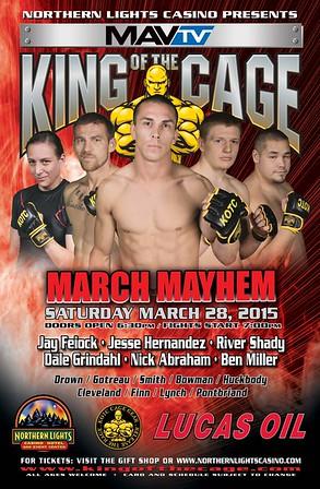 3-28-15 March Mayhem -- Walker MN