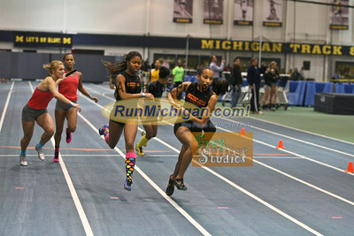 Girls' 4x200 - January 29 MITS Meet at UM
