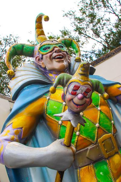 Jester statue near Jackson Square...