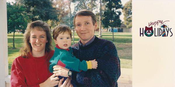 1992 Christmas Card