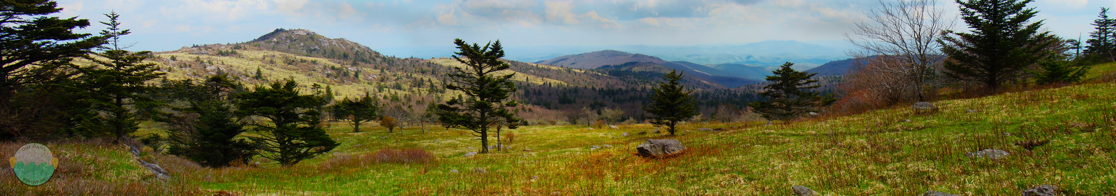 Grayson<br /> A view of the Grayson Highlands.
