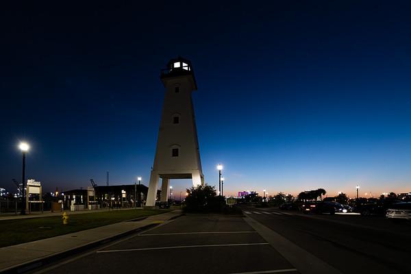 Gulfport Harbor Light