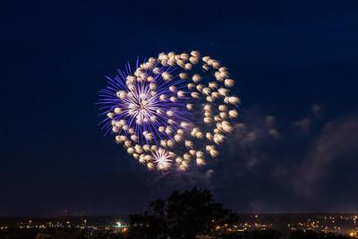 Fireworks, Richmond, Virginia