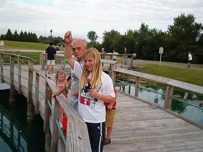 Family shots of grandpa