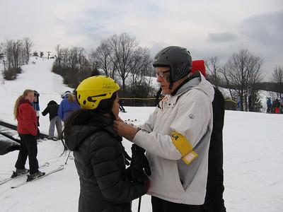 Jan- Skiing