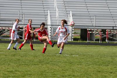 Girls JV Soccer - 5/21/2008 Big Rapids