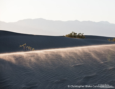 Blowing Sand - Death Valley