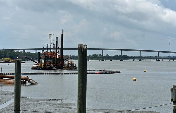 Jekyll Wharf Dredging 06-11-19