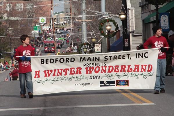 2011 Bedford Christmas Parade