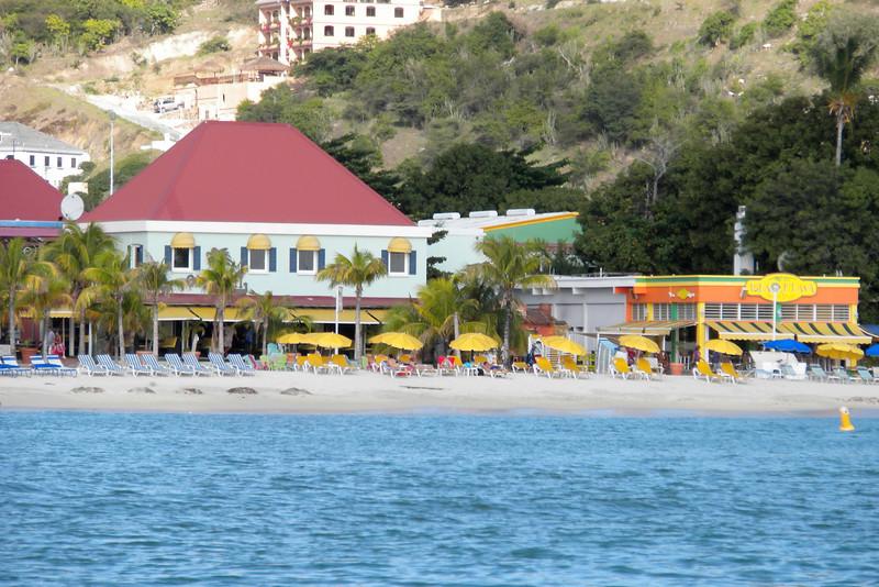 Beach in St. Maarten, Netherlands Antilles